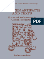 Between Artifacts and Texts_ Historical Archaeology in Global Perspective