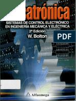 Livro Mecatronica 2da Edi W.bolton(Espanhol)
