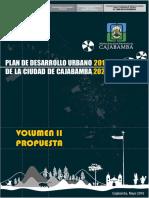 [Volumen II] Propuesta Pdu 2016-2026