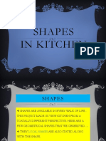 shapes in kitchen