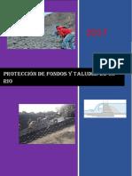 Proteccion de Fondos y Taludes de Un Rio
