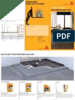 Sika Tiling System - Porcelain Tiles