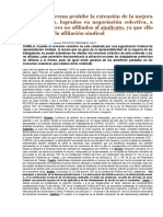 CAS LAB N° 12885-2014-Callao- Sindicato minoritario