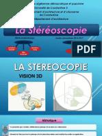 la Sterioscopie