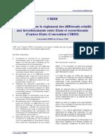 Afrique Convention CIRDI