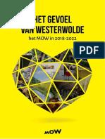 """""""Het gevoel van Westerwolde""""   Meerjarenbeleid het MOW 2018-2022"""