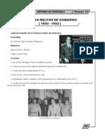 Historia de Venezuela - 1erS_14Semana - MDP