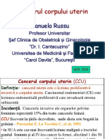 RUSSU Cancer Corp Uterin 2016