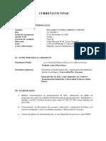 Curriculum Eduardo Carrera