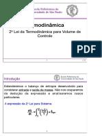 8 - 2a Lei Volume de Controle