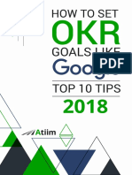 How to Set Goals Like Google Top 10 Tips