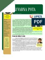 E-Newsletter %27Suvarna Pota%27 Deptt of Transportation Management - Port and Shipping Management
