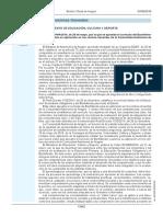 ORDEN ECD_494_2016, de 26 de mayo, por la que se aprueba el currículo del Bachillerato y se autoriza su aplicación en los centros docentes de la Comunidad Autónoma de Aragón_