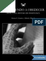 Olmeda Alfredo - Aprendiendo a Obedecer