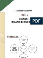 Tpoik 2 Sejarah Biogeo
