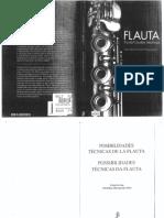 Carin Levine - Posibilidades Tecnicas de La Flauta