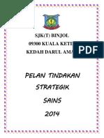 Pelan Tindakan Strategi Sains 2014