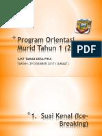 Program Orientasi Murid Tahun 1 (2018)