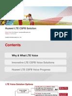 Huawei LTE CSFB Solution Main Slides V4.2