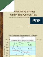 Hardenability Testing
