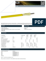 Flat Ribbon Fibre Optic Patch Cable