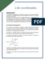 Sistema de Coordenadas