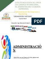 Administracion y El Proceso Administrativo (1)