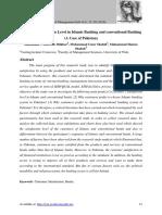 LEVEL of Customer Satisfaction in IB