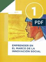 PROYECTO SOCIO - COMUNITARIO - CAP 1 -Emprender en El Marco de La Innovación Social