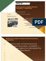 Calidad Educativa UCV I Ciclo 22-08-10