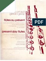 Artaud & Geay - Flutes Au Present