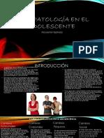 Psicopatología en El Adolescente