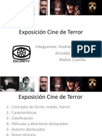 Exposición Cine de Terror