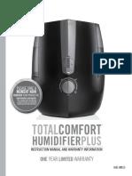 Homedics Humidifier Manual