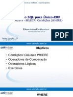 Curso SQL - Unico - Aula04 - Where