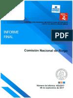INFORME FINAL N° 453-17 COMISIÓN NACIONAL DE RIEGO SOBRE AUDITORÍA A LOS CONTRATOS DE ESTUDIOS BÁSICOS- SEPTIEMBRE 2017