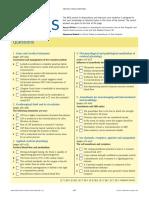 MCQs 2007 Anaesthesia Intensive Care Medicine50