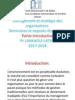 Cours Management Et Stratégie Des Organisations1