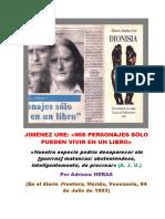 Heras Entrevista a Jiménez Ure (Frontera, 04-07-1993)