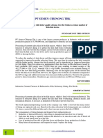 PT Semen Cibinong - Kiln Refractory Lining