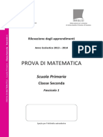 Invalsi Matematica 2013-2014 Primaria Seconda