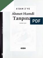 A'Dan Z'Ye - Ahmet Hamdi Tanpınar - Haz-Ekrem Işın - YKY-2003