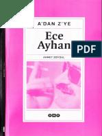 A'Dan Z'Ye - Ece Ayhan - Haz-Ahmet Soysal - YKY-2003