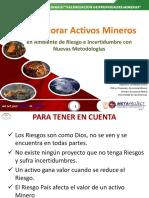 6.- Como Valorar Activos Mineros - M Viera - Metaproject