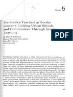 Solomon Chapter 5 Pre-service Teachers as Border Crossers, Pp. 67-88