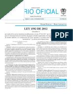 Ley 1592
