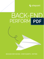 Back End Performance