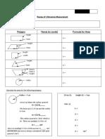 formula  worksheet