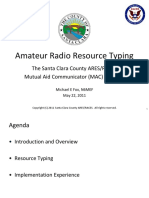 Amateur Radio Resource Typing