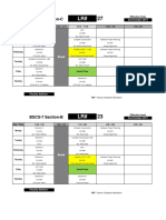 Time Table-bscs7 b & c
